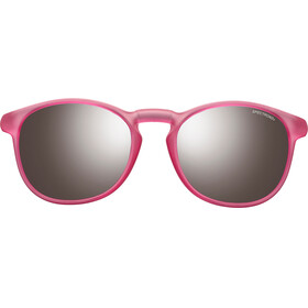 Julbo Fame Spectron 3+ Sunglasses Junior 10-15Y Matt Translucent Pink-Gray Flash Silver